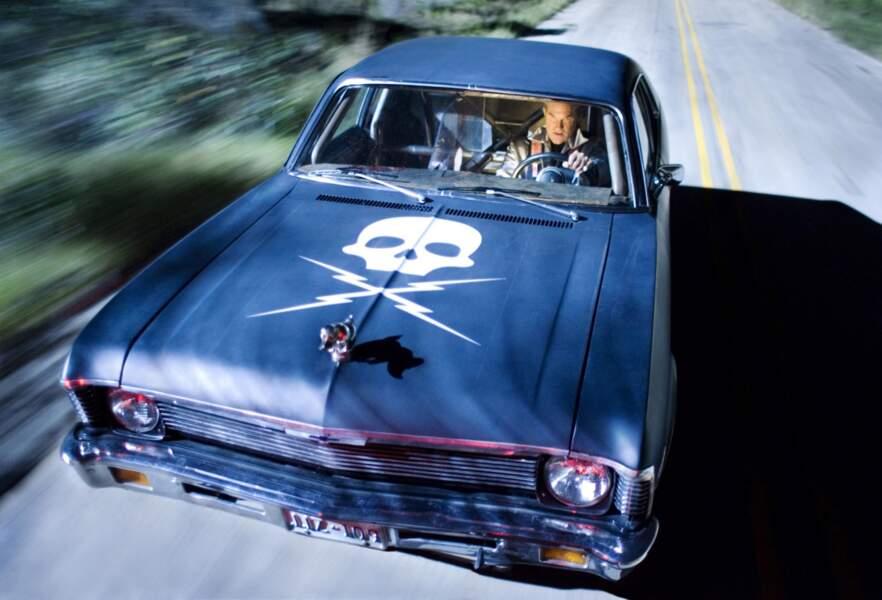 Dans ce film, Tarantino rend hommage aux films orientés sur les poursuites en voitures des années 1970