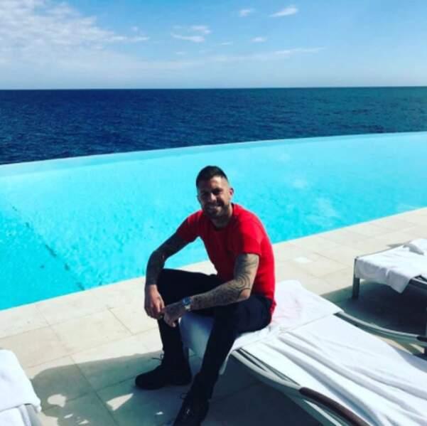 D'autres people sont d'ailleurs déjà en vacances : le footballeur Jérémy Ménez.