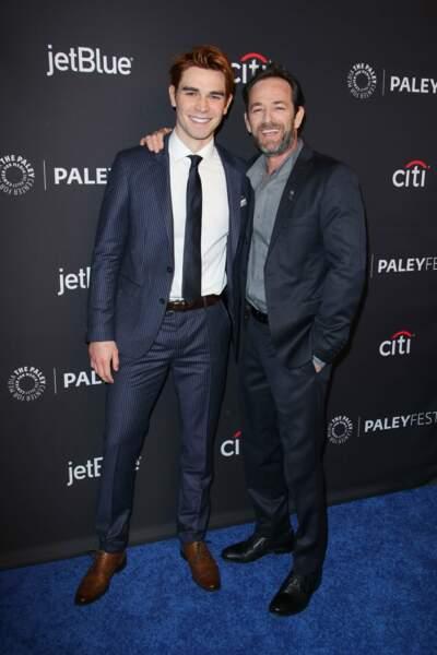 Dans Riverdale, Luke Perry incarnait Fred Andrews, le père du héros Archie