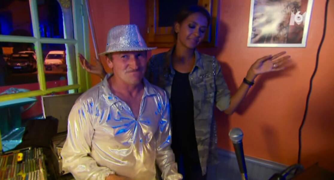 Et Karine termine la soirée avec Fifi Guetta ! La chance !
