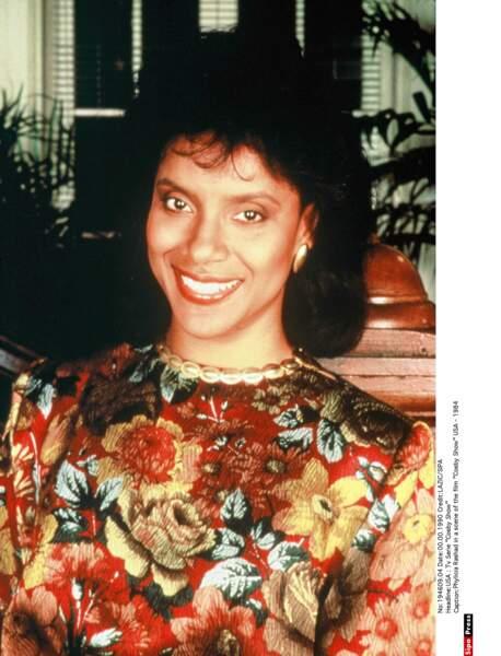 Voici Phylicia Rashād, qui jouait Clair Olivia Hanks-Huxtable