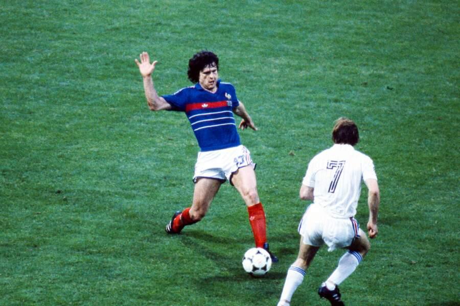 Didier Six prendra sa retraite internationale après l'Euro de 1984