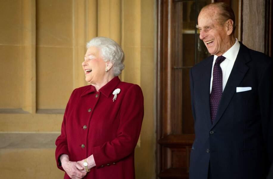 Philip est un grand gaffeur et la reine adore en rire