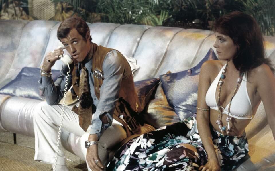 Le magnifique (1973), avec Jacqueline Bisset