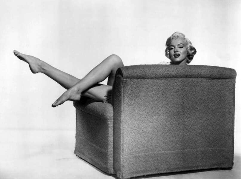Avec un jeu de jambes pareil, normal que Marilyn soit devenue une icône