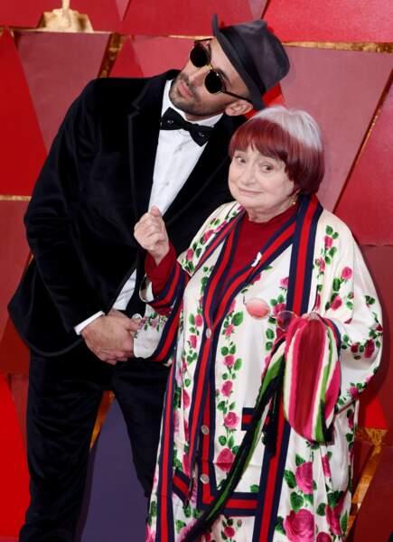 JR et Agnes Varda, en lice pour le Meilleur documentaire avec Visages villages
