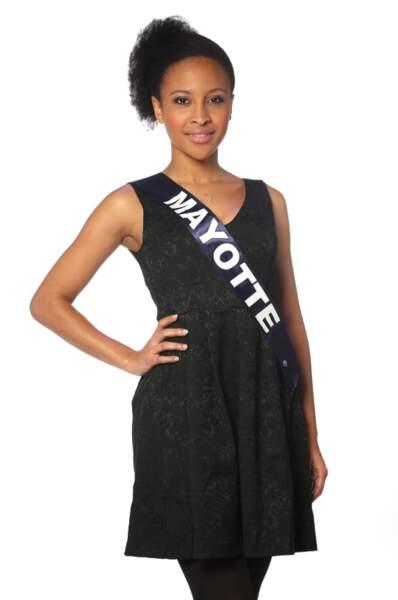 Daniati Yves, Miss Mayotte 2013