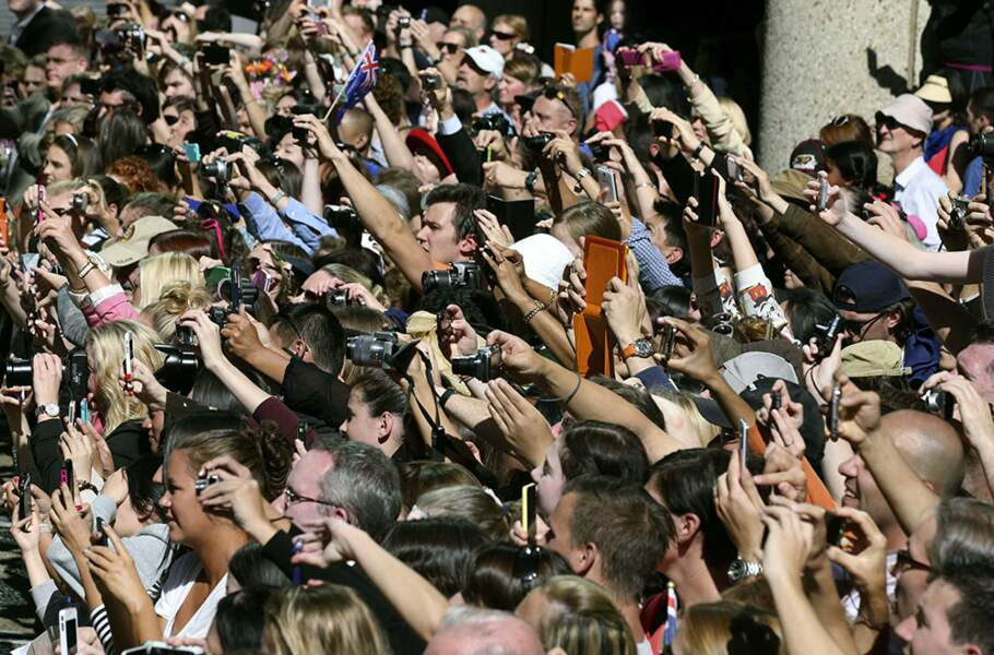 La canonisation de Jean-Paul II ? Non, l'arrivée du couple à Sydney