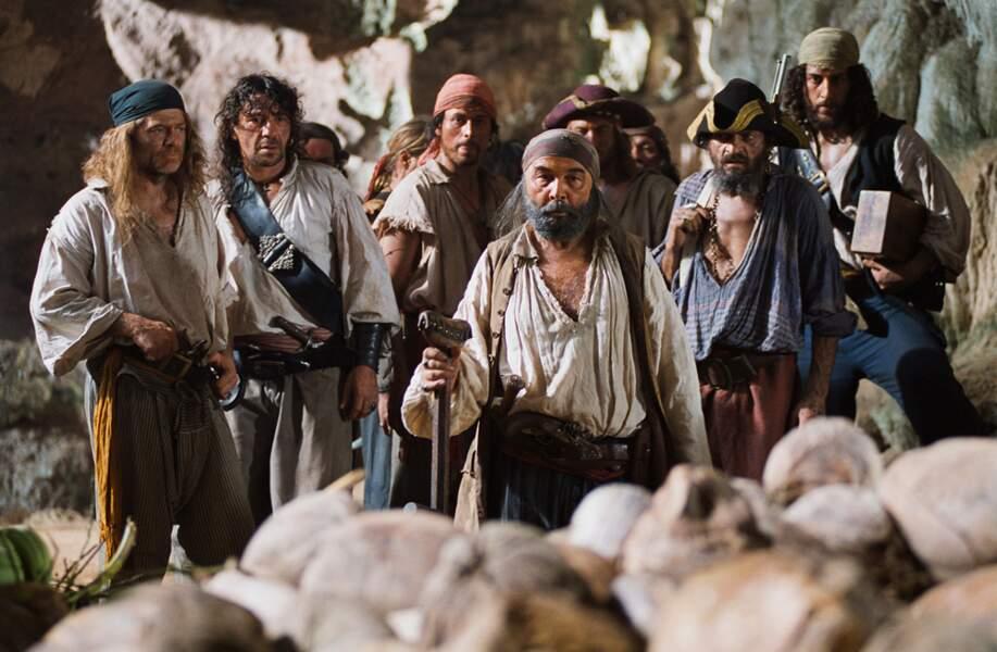 L'île au trésor (2006) : Gérard Jugnot incarne le célèbre John Silver dans cette énième adaptation de Stevenson