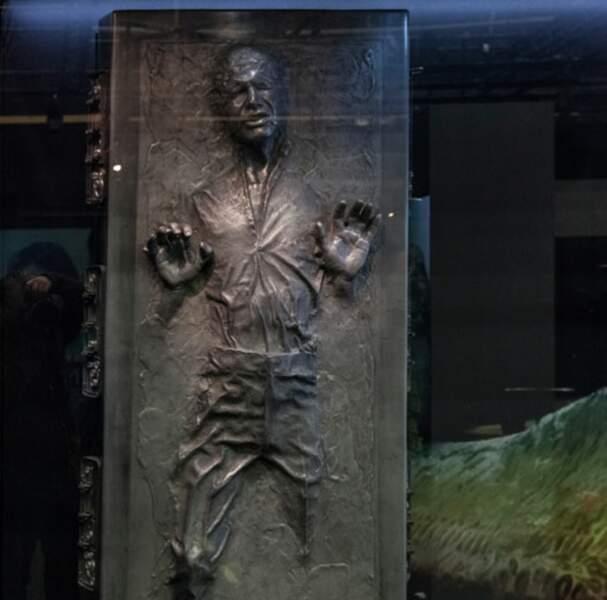 Han Solo emprisonné dans la carbonite (Episode V : l'Empire contre attaque)