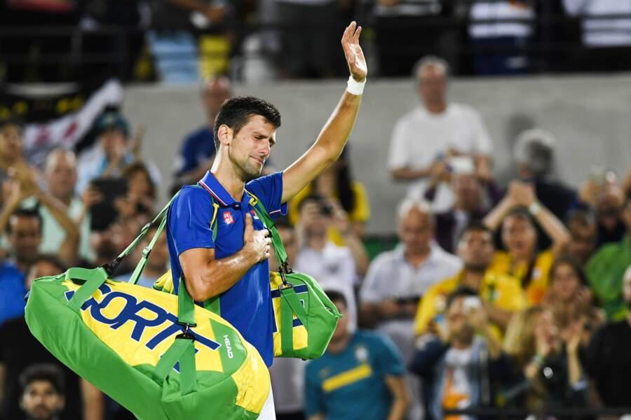 Eh oui, parfois, Novak Djokovic perd