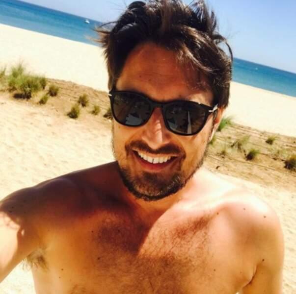 Bonne nouvelle : il fait beau au Maroc, comme le prouve ce selfie de Vincent Cerutti.