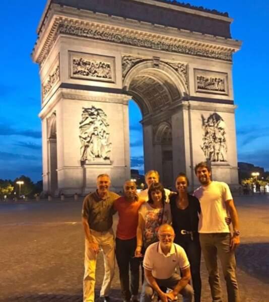 Gros succès de l'Arc de Triomphe, n'est-ce pas Jeremy Chardy ?