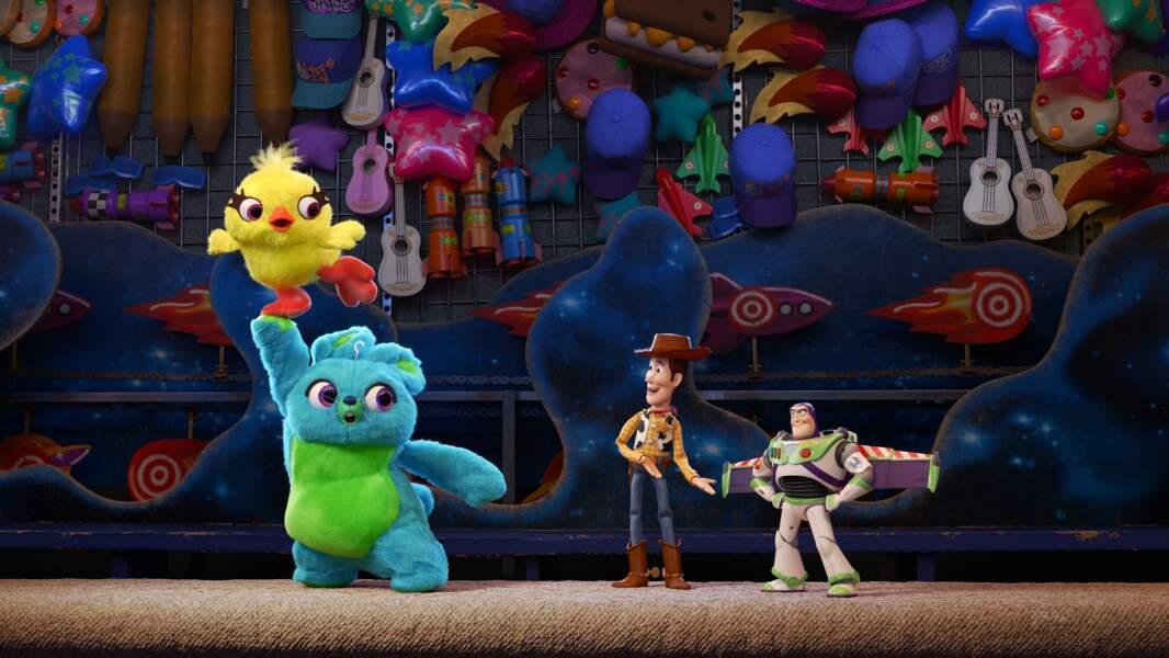 Le plus amusant :Toy Story 4