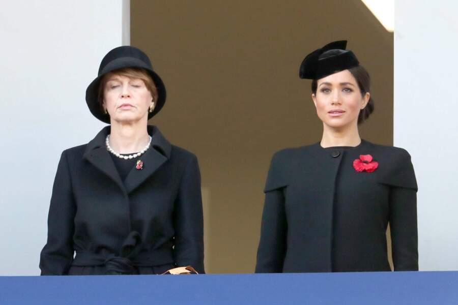 Meghan Markle avait, elle, été reléguée auprès d'autres membres de la famille royale