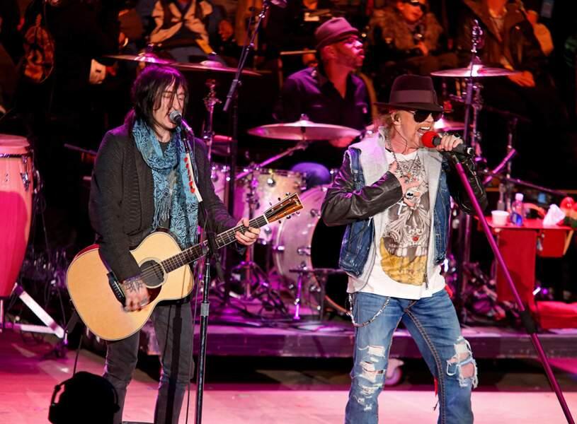 51. Guns N' Roses (chanteurs)