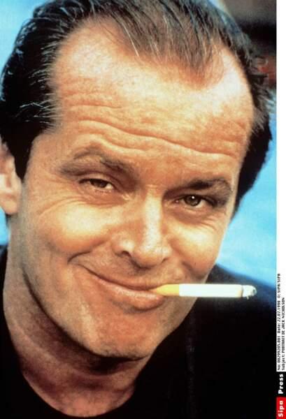 Jack Nicholson, ou les sourcils les plus flippants du 7è art.