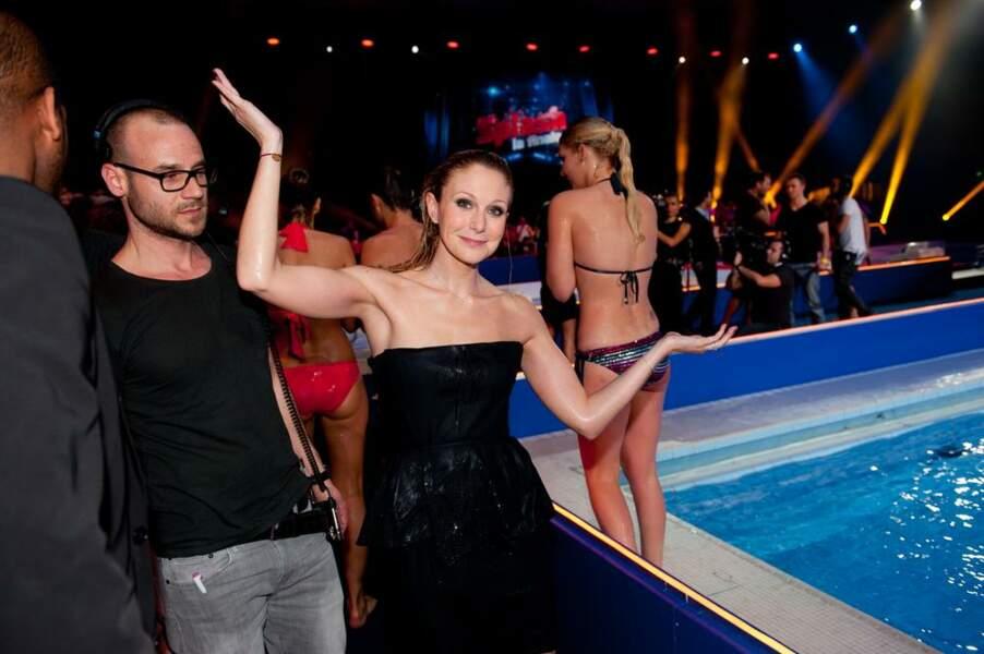 Même Julie Taton a été jetée à l'eau