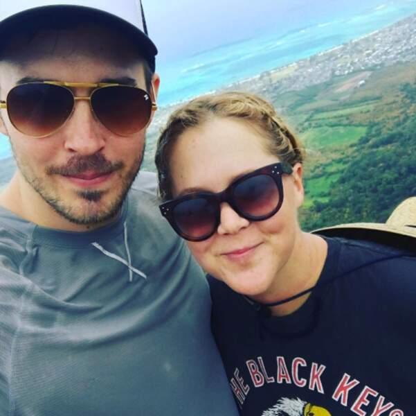 Et selfie de couple pour Amy Schumer !