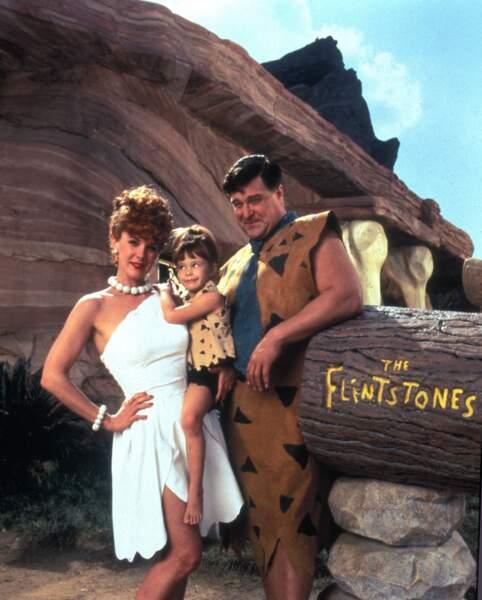 John Goodman, fier père de famille dans La Famille Pierrafeu (1994)