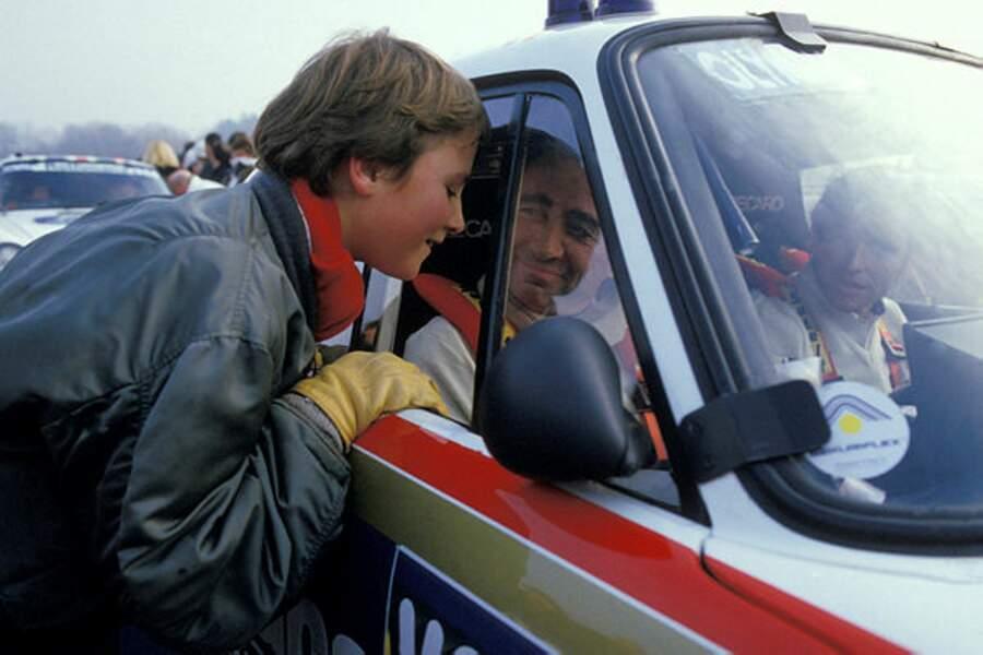 Alexandre Brasseur acompagne son père au Paris-Dakar en 1984