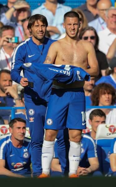 Eden Hazard (Belgique), 27 ans