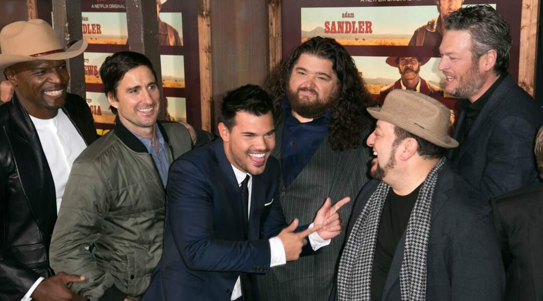 Les acteurs étaient visiblement heureux de se retrouver !