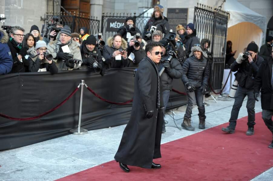 De nombreuses stars québécoises étaient présentes, comme le chanteur Eric Lapointe…