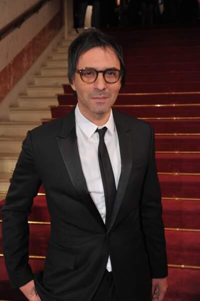 L'acteur et réalisateur Samuel Benchetrit, nommé dans la catégorie Meilleure adaptation pour Asphalte