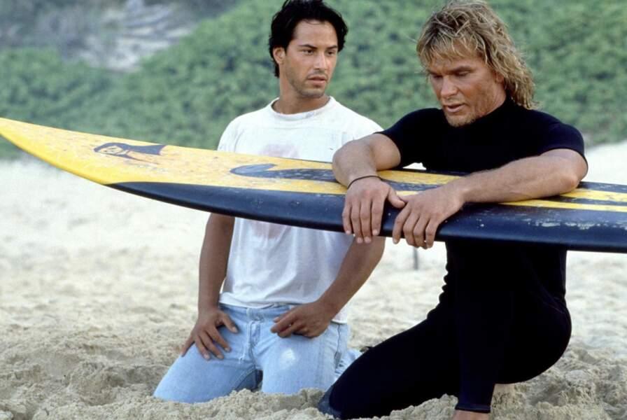 Aux côtés de Patrick Swayze dans Point Break (1991), l'acteur devient le chouchou de ses dames