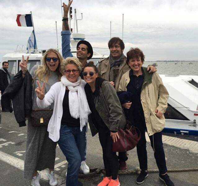 Mais Priscilla Betti et Christophe Licata aussi sont de la partie, avec Roselyne Bachelot notamment.