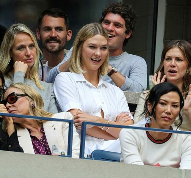 Le top Karlie Kloss s'est rendu à la finale Messieurs
