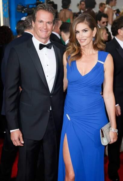 Vous voulez du glamour ? Voici Rande Gerber et sa ravissante femme, Cindy Crawford