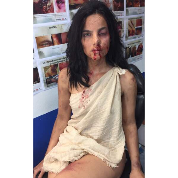 Elle a également joué dans la série chilo-colombienne Sitiados