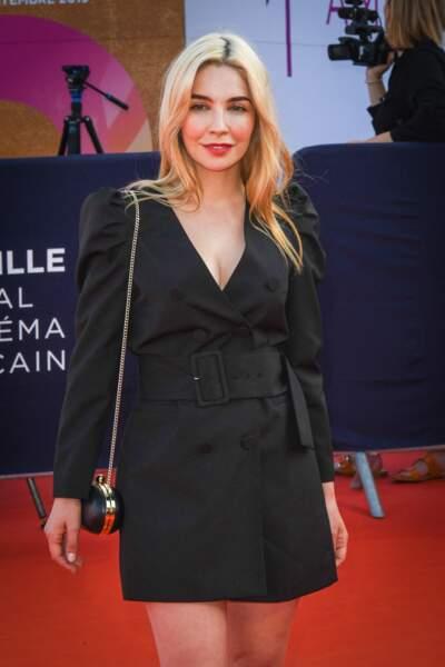 L'actrice Alix Benezech