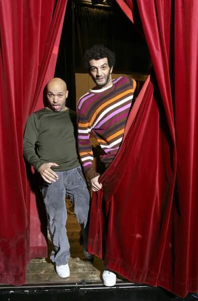 Eric Judor et Ramzy Bédia au Café de la Gare (2007)