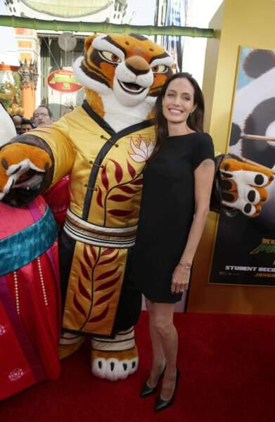 Mais elle a pu se consoler dans les bras de Tigresse, le personnage du film auquel elle prête sa voix