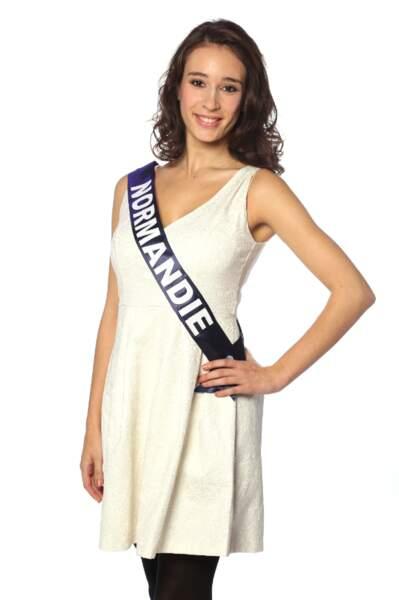 Ophélie Genest, Miss Normandie 2013