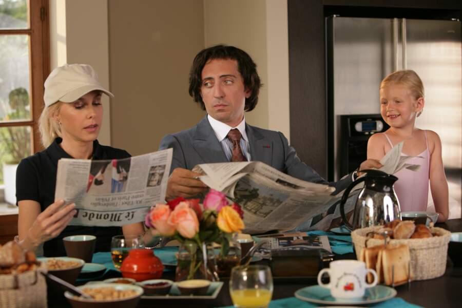 Gad Elmaleh et sa coupe au bol dans Coco (2009)
