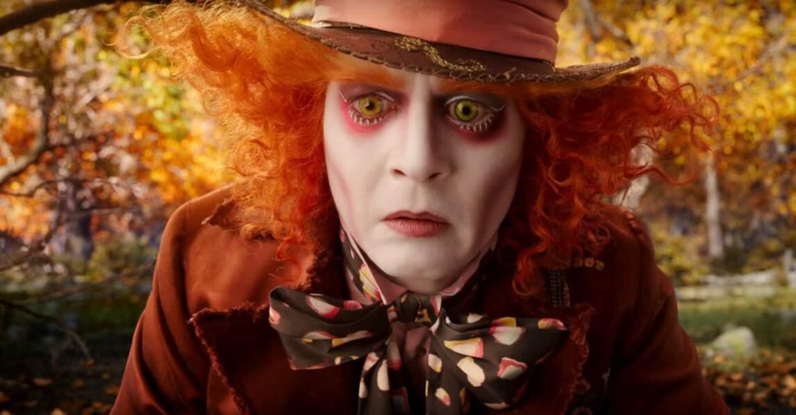 Il retrouvera en juin 2016 son personnage de Chapelier fou dans Alice de l'autre côté du miroir