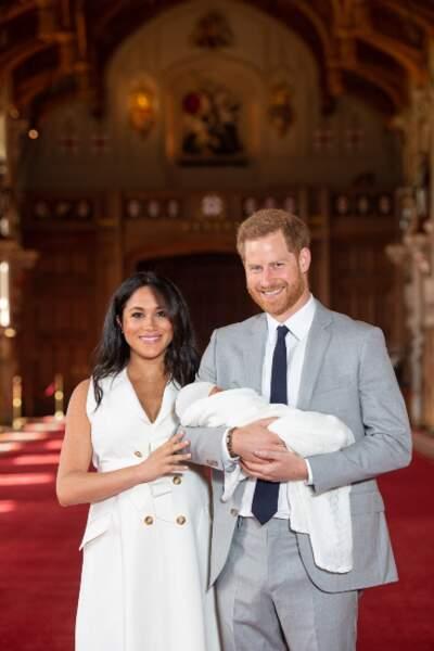 … leur premier enfant.