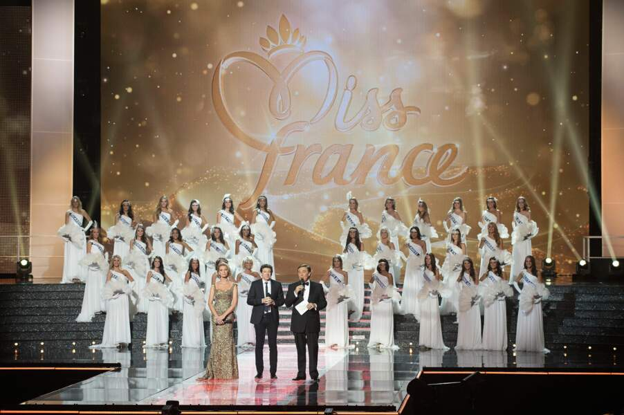 Devinez quel été le code couleur de la soirée Miss France ?