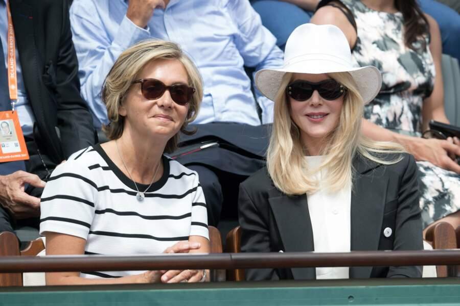 Blondeur et lunettes de soleil, Nicole Kidman et Valérie Pécresse sont assorties