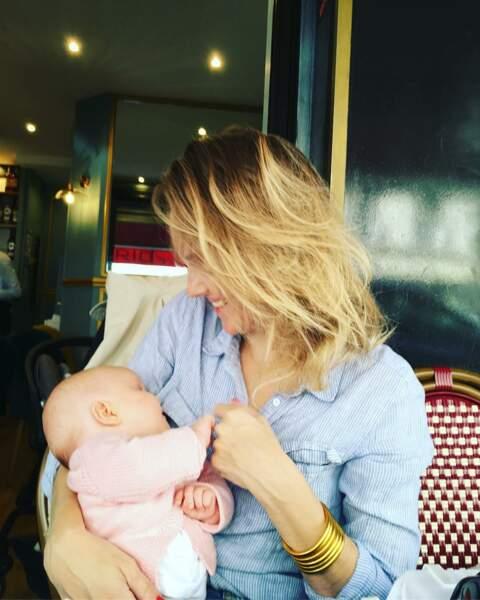 Maya Lauqué, l'animatrice de France 5, est à nouveau maman depuis juillet