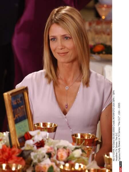 Kelly Rowan jouait son épouse, Kirsten Cohen