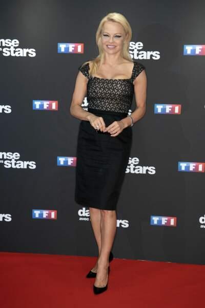 Pamela Anderson était incontestablement LA star de la soirée