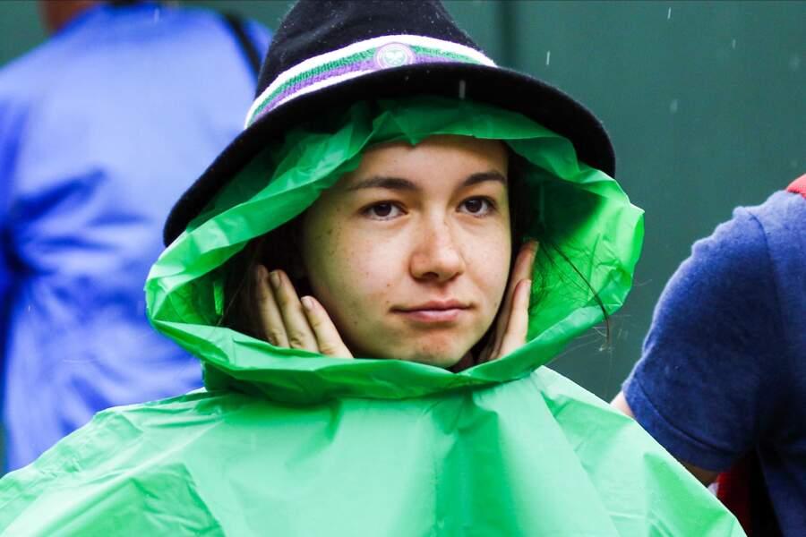 Parce que Wimbledon sans pluie, ce n'est pas vraiment Wimbledon...