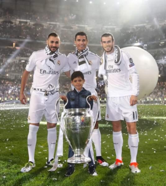 Avec Karim Benzema et Gareth Bale, c'est aussi l'un des orfèvres du Real Madrid