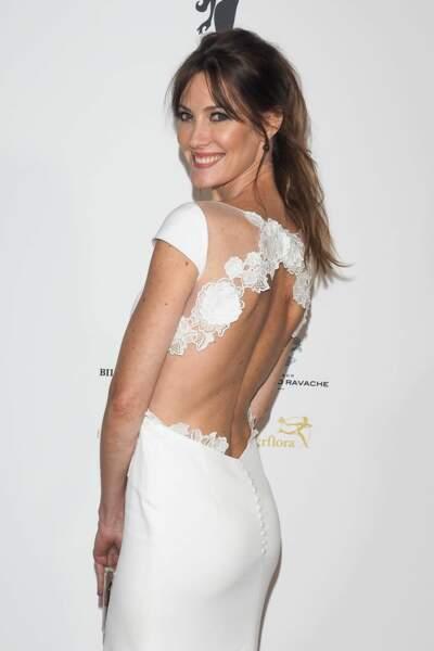 Mareva Galanter, Miss France 1999, nous rappelle Pippa Middleton lors du mariage de Kate et William