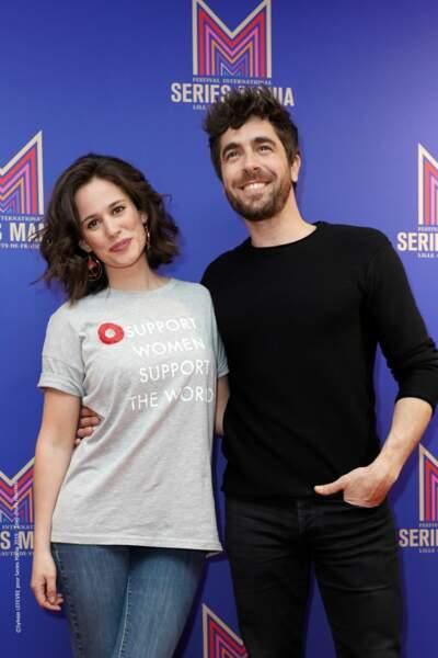 Très complices, Lucie Lucas et Agustín Galiana sont venus présenter la saison 9 de Clem